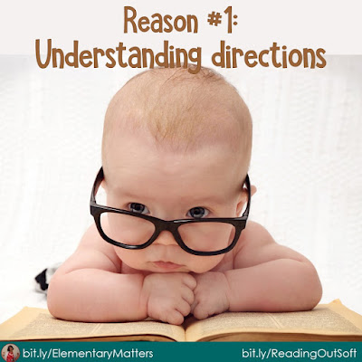"""Five Reasons for Children to Read """"Out Soft"""" This simple strategy can help children in a variety of situations in and out of the classroom."""