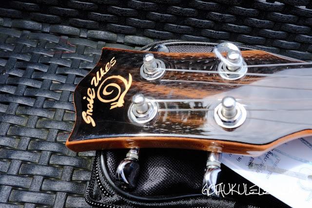 Snail SUT-M1 Tenor Ukulele headstock