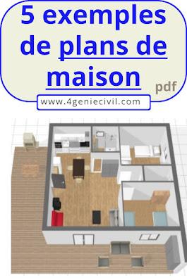 Exemples de plans détaillé de maison pdf