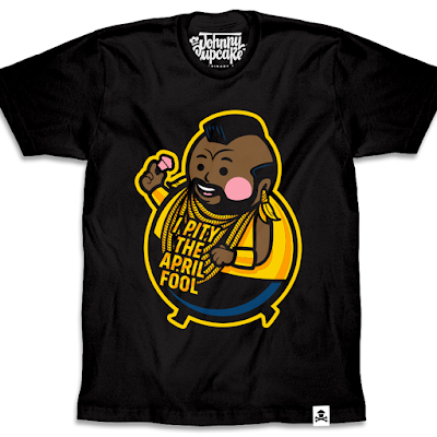 "Mr. T April Fool's Day T-Shirt ""Fool Big Kid"" by Johnny Cupcakes"