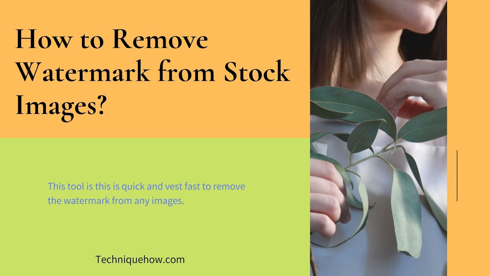 remove watermark from stock photos