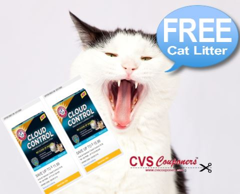 FREE Arm & Hammer Cloud Cat Litter at CVS