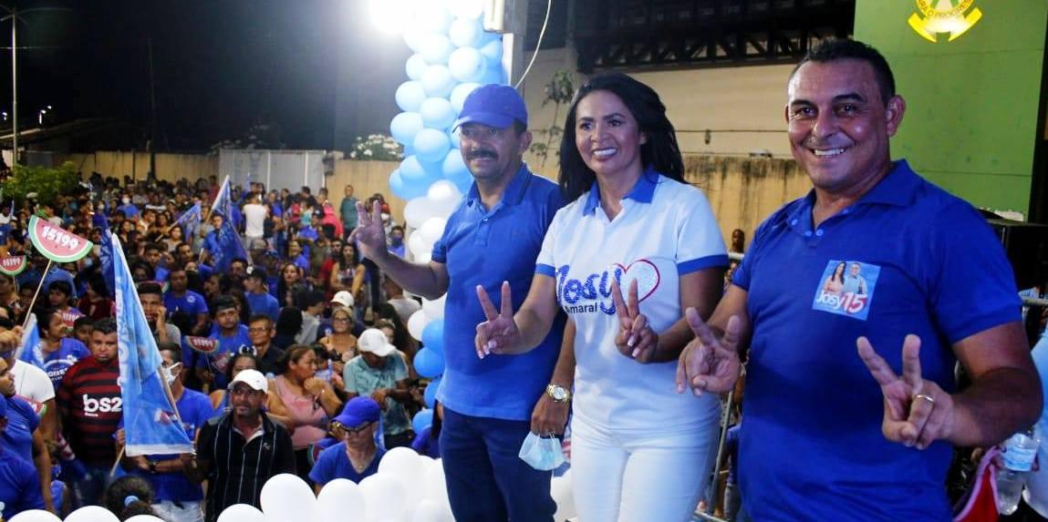 Josy Amaral, do MDB, lidera pesquisa em Vitória do Xingu a 30 dias das eleições