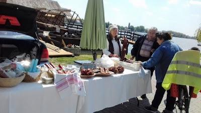 Csónakos piac Ráckeve