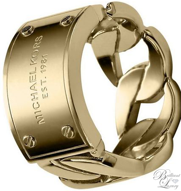 Brilliant Luxury ♦ Michael Kors Ring