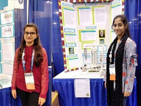 4 Pakistani students in the United States Intel Science Fair have a wonderful success