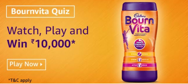 What is the colour of the Bournvita Jar, as per the video?