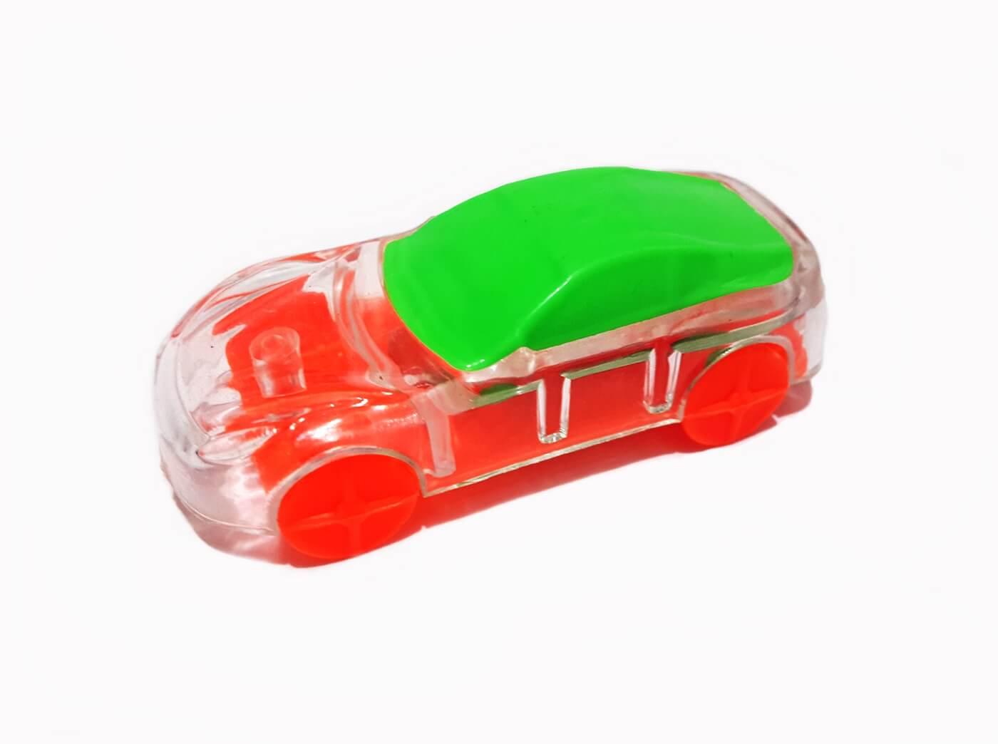 Transparent Toy Car, Miniature, Macro