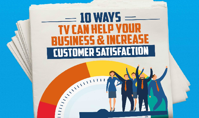 10 Ways TV Can Help Your Business and Increase Customer Satisfaction #infographic