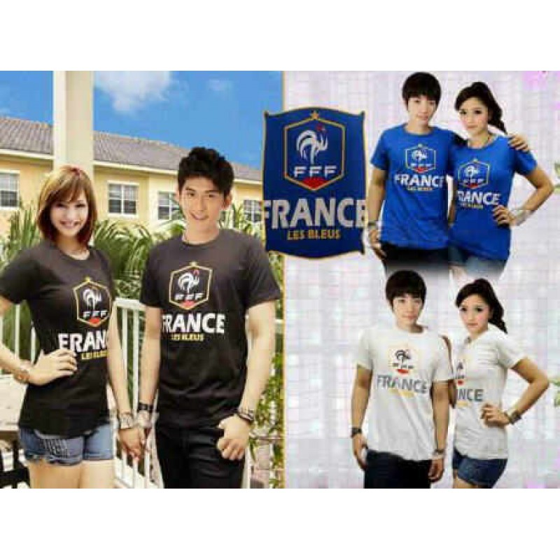 Jual Baju Couple Les Blues France - 22661