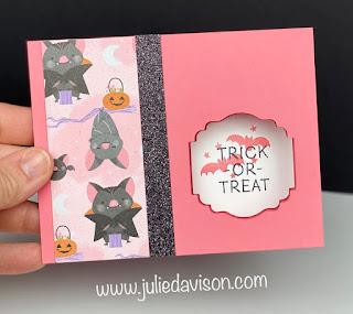 3 Stampin' Up! Little Delights Window Cards + VIDEO ~ Cute Halloween Suite ~ www.juliedavison.com #stampinup