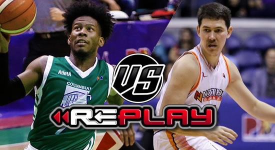 Video Playlist: Columbian vs NorthPort replay 2019 PBA Philippine Cup