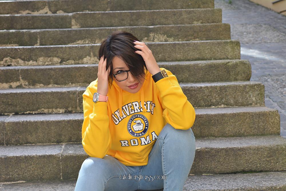sudadera universidad roma