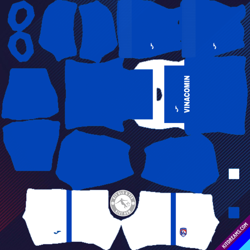 Kits CLB Than Quảng Ninh 2019 - 2020 Dream League Soccer 2021