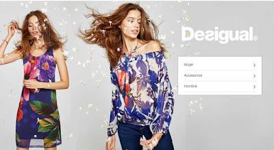 oferta de ropa de la marca Desigual