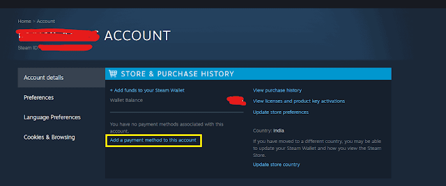 Can you use visa gift cards on steam? Know how we can achieve it!