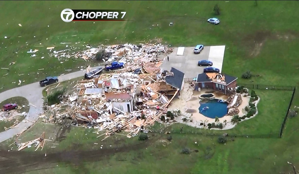 wedding guest killed during east texas tornado