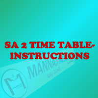 Summarize Assistant 2  - Time table and instructions