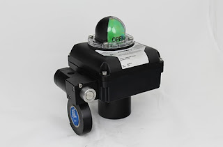 industrial valve automation actuator and limit switch