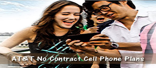 AT&T No Contract Cell Phone Plans