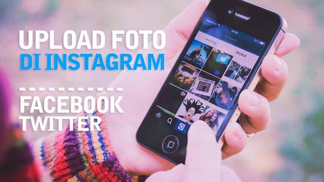 Cara Upload Foto  di Instagram
