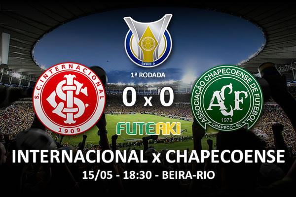 Veja o resumo da partida com os melhores momentos de Internacional 0x0 Chapecoense pela 1ª rodada do Brasileirão 2016.