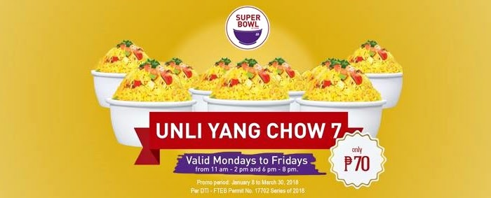 Super Bowl of China Unli Yang Chow 2018 YedyLicious Manila Food Blog, Super Bowl Unli Yang Chow Blog Review, Super Bowl Menu Website Facebook Instagram Twitter Delivery Top Best Chinese Restaurants in Manila Philippines, Unlimited Eat All You Can Promo Restaurants Best Top Food Blog in Manila Philippines YedyLicious.com