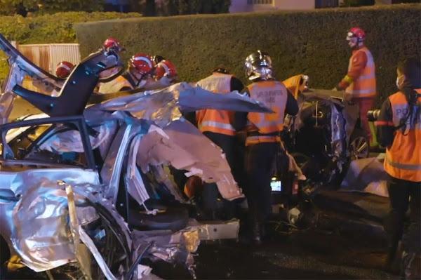 Un chauffard fuit la police et percute la voiture d'une famille à Aulnay : une mère et son fils de 3 ans tués