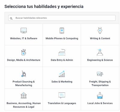 Categorias de habilidades - Freelancer.com
