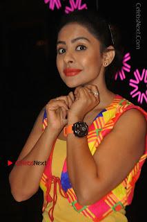 Telugu Actress Model Sri Reddy Latest Stills in Yellow Dress  0035.JPG
