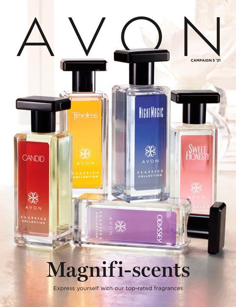 Avon brochure campaign 5 2021 - Magnifi-Scents