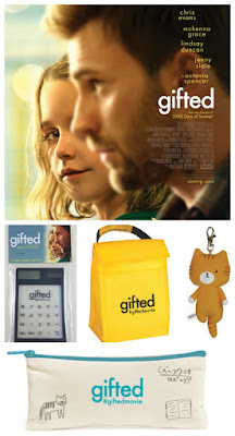 Enter the Gifted Movie Giveaway. Ends 4/15/17