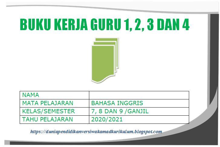 Perangkat Buku Kerja Guru 1, 2, 3 dan 4 Bahasa Inggris ...