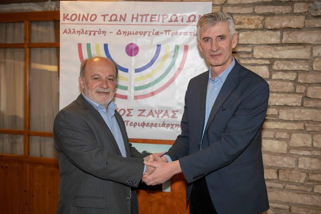 Υποψήφιος Περιφερειακός Σύμβουλος με τον Συνδυασμό του Γ. Ζάψα ο Παύλος Παπαρούνας