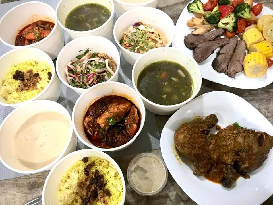 Kali ni kita order Take Away Asian Barbeque Set - Rennaisance Johor Bahru Hotel
