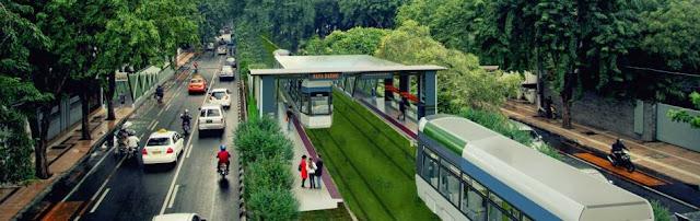 Gambar design stasiun trem Surabaya |  Humas Pemkot Surabaya