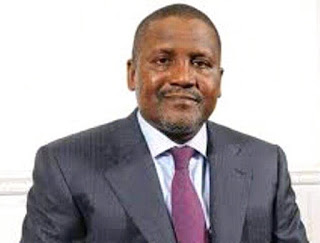 The president of Dagote  Groups