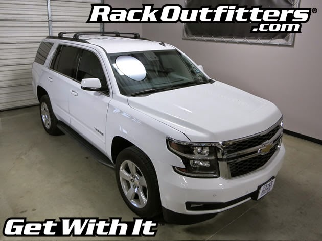 2015 Chevy Tahoe Chrome Roof Rack