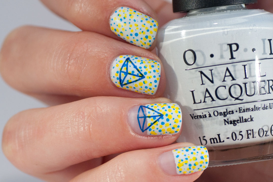 31 Day Challenge: Day 11, Discreet Polka Dot Nail Art