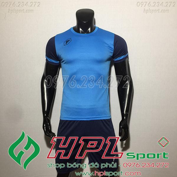 Áo ko logo Fagan DG màu xanh ngọc