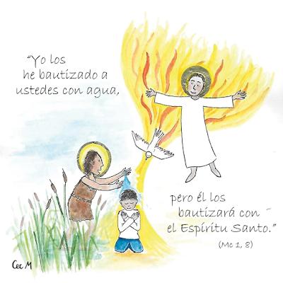 Evangelio según san Marcos (1, 1-8): He aquí que yo envío a mi mensajero delante de ti