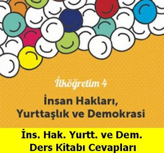 4. Sınıf İnsan Hakları Yurttaşlık ve Demokrasi Meb Yayınları Ders Kitabı Cevapları Sayfa 50