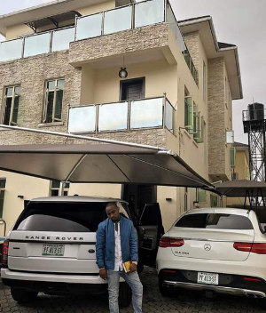 Davido's supposed new house is his renovated old house- Sources (See photos)