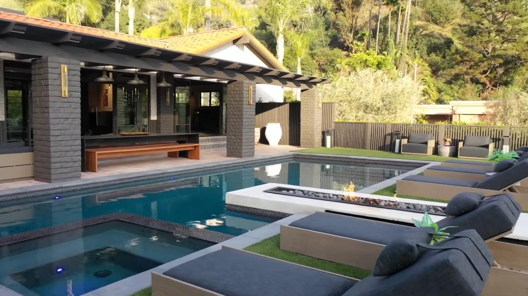 66 Interior Photos vs. Tour 1707 Rising Glen Rd, Los Angeles, CA Luxury Home