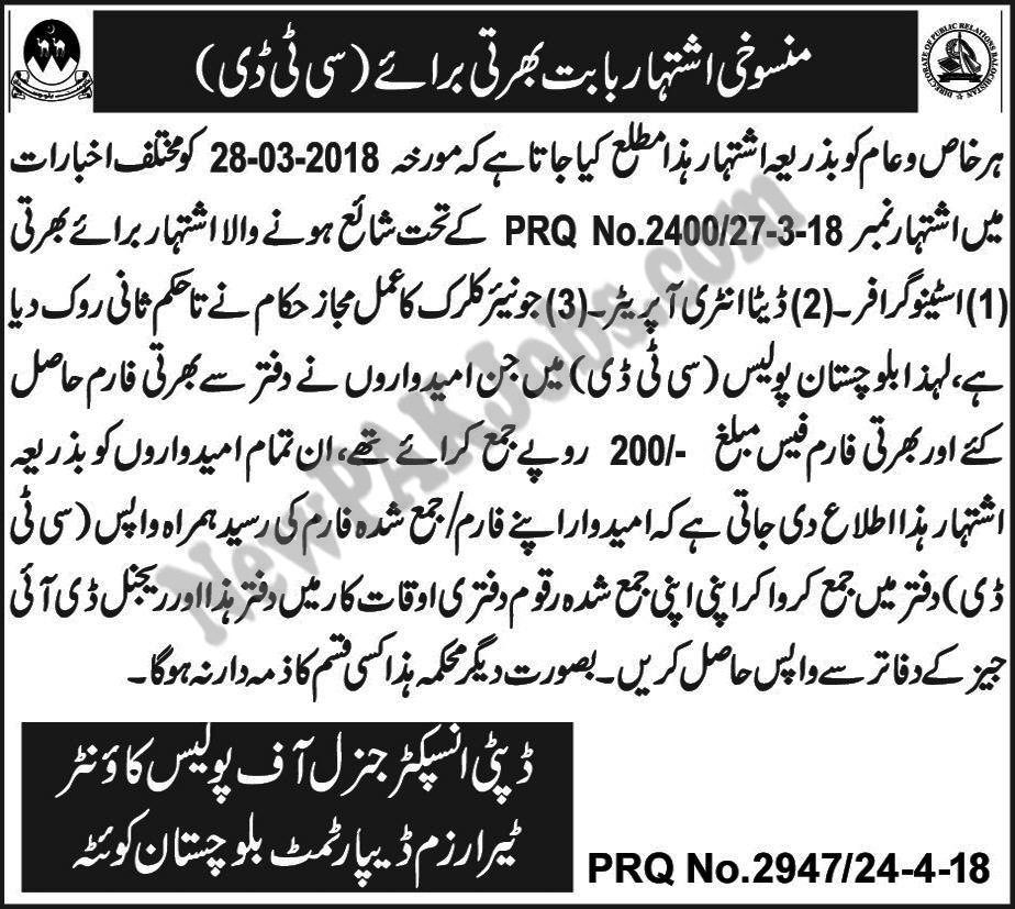 CTD-Quetta-jobs-are-cancelled