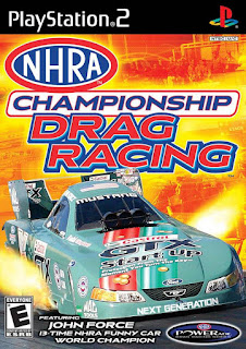 NHRA Championship Drag Racing PS2 ISO (NTSC) (MG-MF)