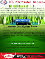 Open Recruitment at PT. Kertopaten Kencana Surabaya November 2020