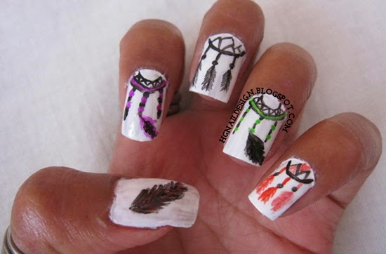 http://hgnaildesign.blogspot.com/2014/05/dream-catcher.html