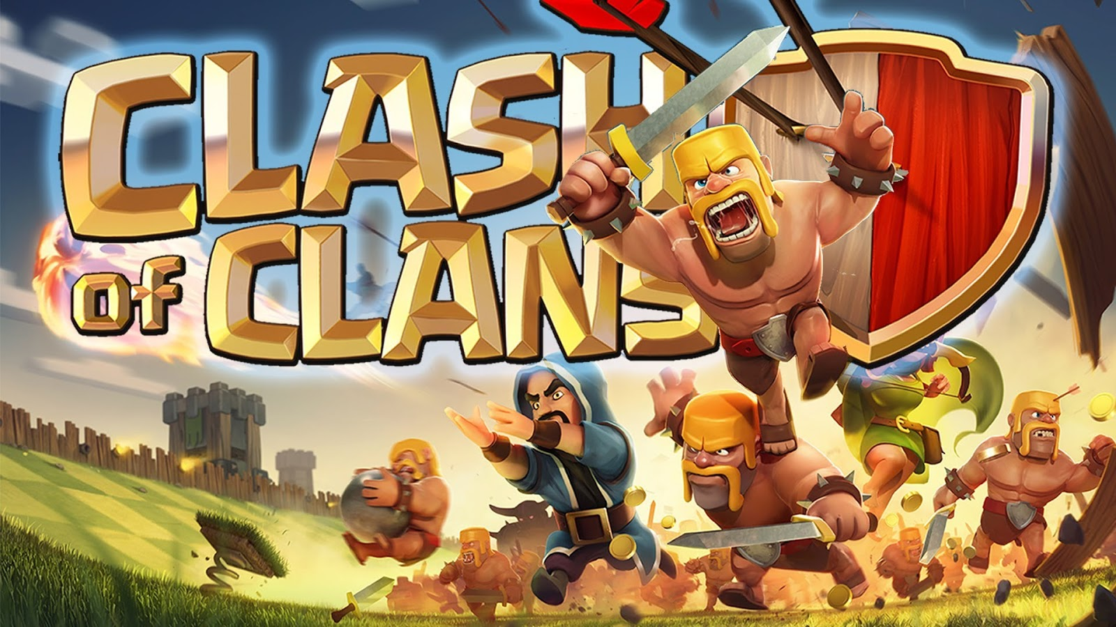 Wallpaper 3d Buat Android Gambar Animasi Lucu Clash Of Clans Terbaru Display