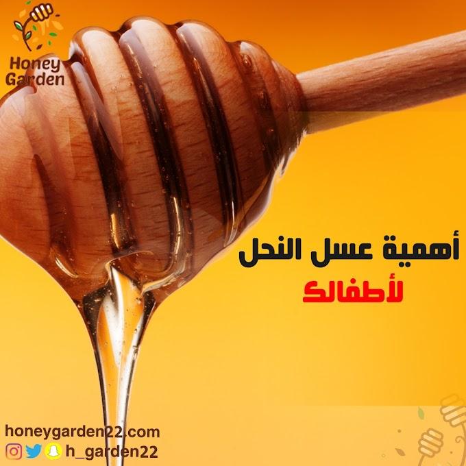 أهمية عسل النحل لأطفالك